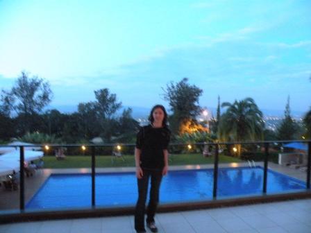 Pool in Kigali