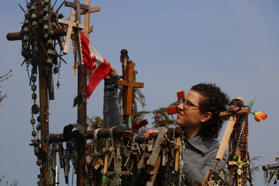 Hill of Crosses - CanFlag